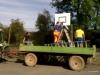 Aufbau Basketballkorb 2014