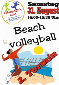 Beachvolleyball_2._T ermin