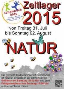 Zeltlager 2015 - Natur-