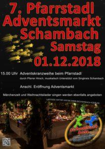 Pfarrstadl Adventsmarkt 2018